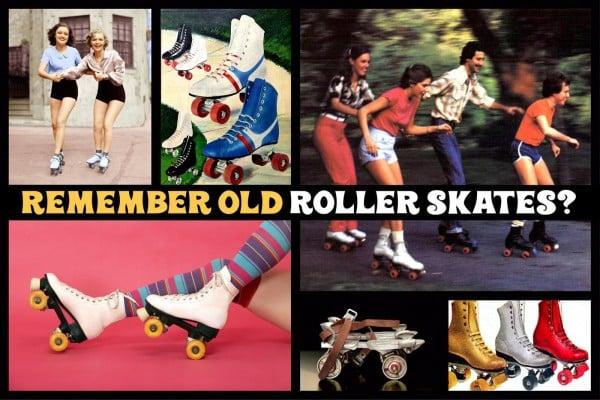 Remember old roller skates - at ClickAmericana com