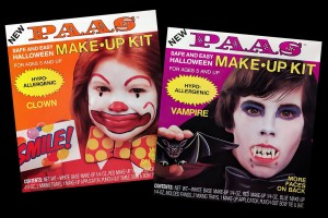 Remember these vintage Paas Halloween makeup kits from the '80s?