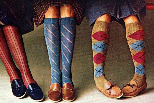 Retro 80s knee-highs and other sassy sock styles
