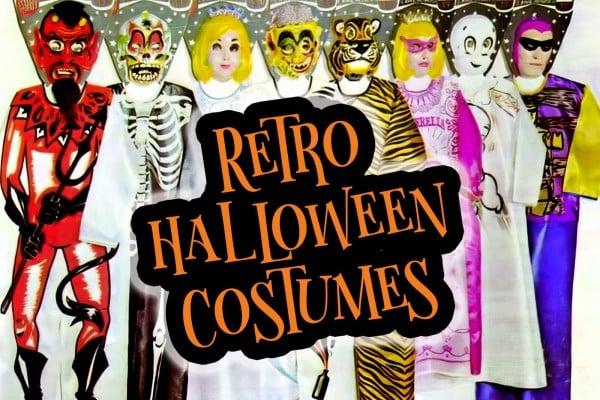 Retro Halloween costumes