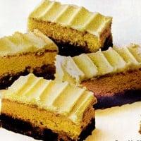 Retro fall dessert recipes: Pumpkin pie bars, Coconut choco-swirl cake & Date bar cake (1971)
