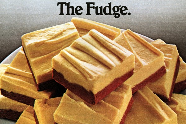 Ribbon fantasy fudge vintage recipe (1981)