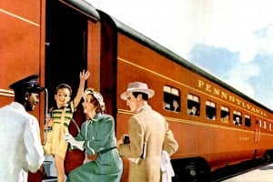 When you could ride the rails in style: Train cars from the 1940s
