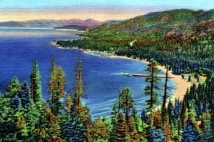 See old Lake Tahoe: How the Sierra vacation destination looked a long time ago