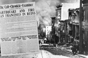 1906 San Francisco earthquake: Rare pictures & first reports made while the fires were still burning the city