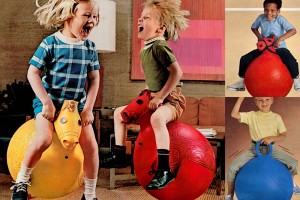 Vintage Hoppity Hop & Hoppity Horse toys were bouncing balls of fun
