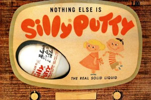 Silly Putty: The history of the stretchy, bouncy wonder toy of the 20th century
