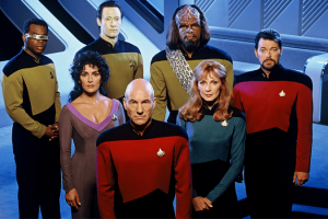 Star Trek: The Next Generation had a bold new mission from 1987-1994