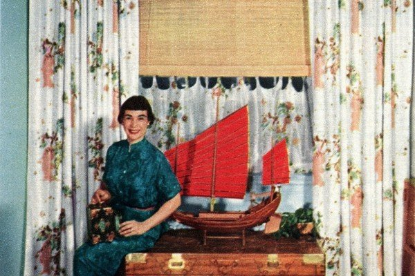 See 40 stylish vintage window coverings from the '50s