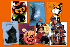 15 vintage Halloween cards for kids from the '70s & '80s were super-cute ways to say boo