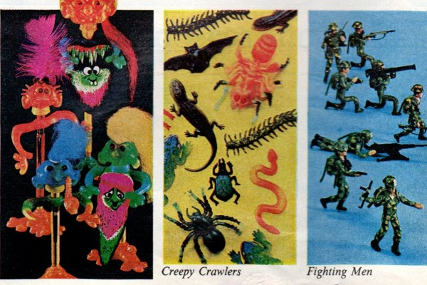The Thingmaker: Mattel's vintage sets that let you mold Creepy Crawlers, Fun Flowers & other little toys with Plastigoop