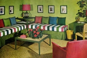 Home decor for a small apartment: Tips from the 1940s