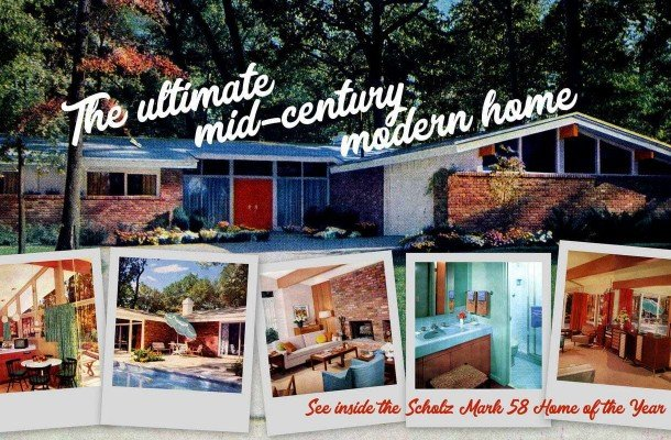 Tour the ultimate mid-century modern house: The Scholz Mark 58 Home of the Year