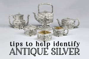 Tips to identify antique silver: Vintage visual guides