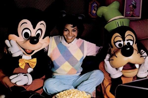 VIntage young Janet Jackson - Disney Channel (1984)
