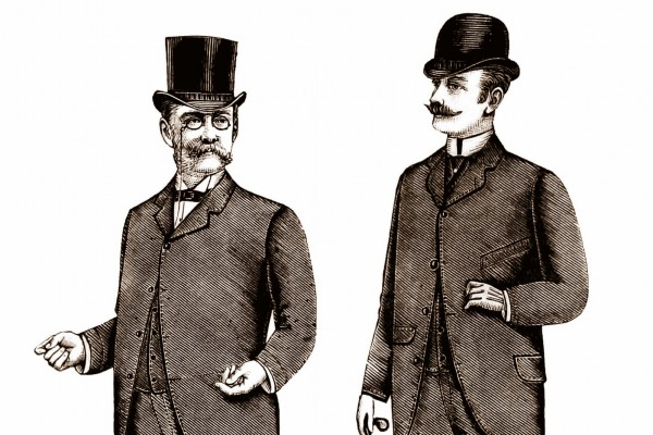 Victorian etiquette for men: 72 simple rules for the dinner table (1889)