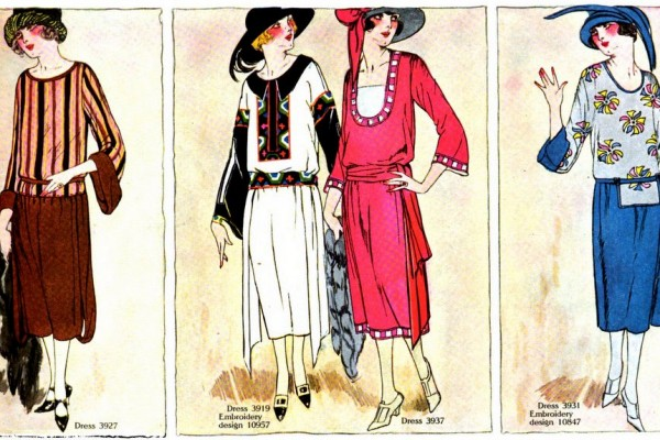 Vintage 1920s clothing: See 62 summer fashions from 1922, and how they were made