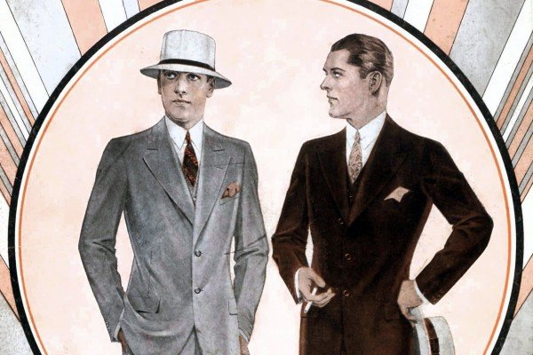 Vintage 1930s suits: See 60+ old-fashioned menswear styles