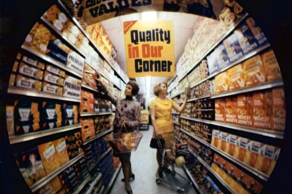 100 vintage 1960s supermarkets & old-fashioned grocery stores