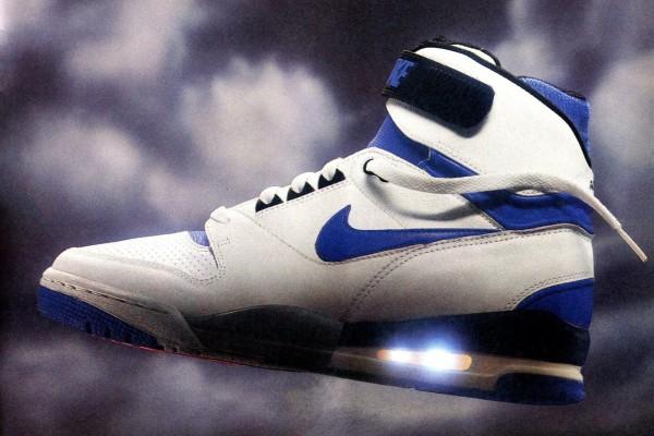 Vintage 1980s Nike shoes, from regular sneakers to Air Jordans