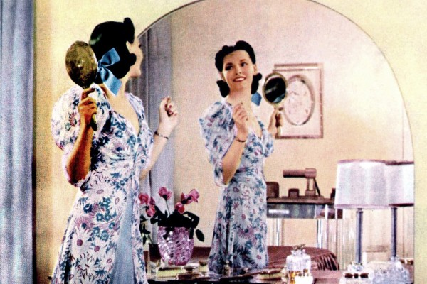 Vintage '30s beauty tips for an ugly duckling