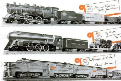 Vintage American Flyer railroads