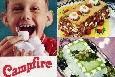 Vintage Campfire marshmallows from the 1950s