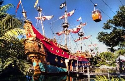 Tasty tuna recipes from vintage Disneyland's Pirate Ship restaurant (1955-1956)