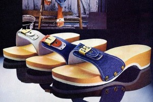 Vintage Dr Scholl's Exercise Sandals & Toe Hugger shoes for women