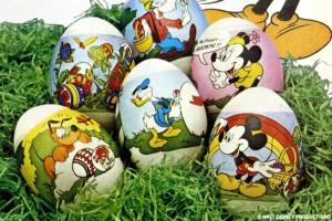 Vintage Easter egg shrink-wrap decorating sleeves
