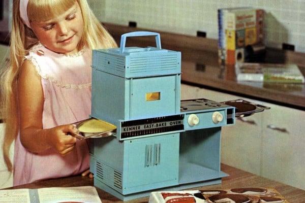 Vintage Easy Bake Oven toys