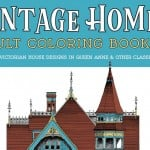 Vintage Homes Adult Coloring Book 2 Classic Victorian Houses