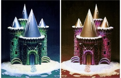 How to make a fantastic decorated ice castle cake (1979)