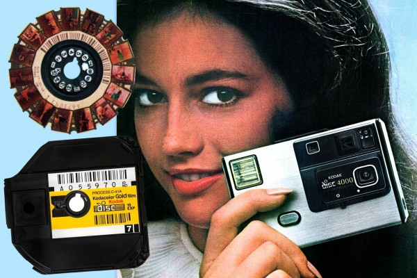 The Kodak Disc camera debuted in 1982, but couldn't live up to its promise. Here's the story.
