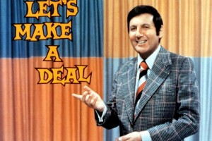 "Monty Hall of ""Let's Make a Deal"": Critics' barbs sting, but fans love him (1974)"