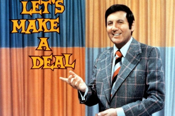 """Monty Hall of """"Let's Make a Deal"""": Critics' barbs sting, but fans love him (1974)"""