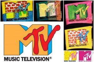 Vintage MTV logos