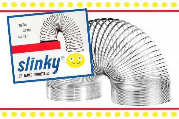 Vintage Slinky toys