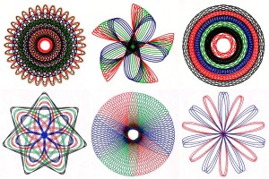 See how vintage Spirograph toys made it easy for anyone to draw amazing geometric designs