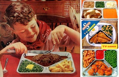 30 vintage TV dinners: Fried chicken, turkey, pot roast & other fab frozen food, retro-style