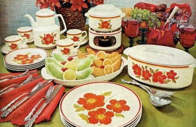 Lenox Temper-ware informal dinnerware sets from the '70s & '80s
