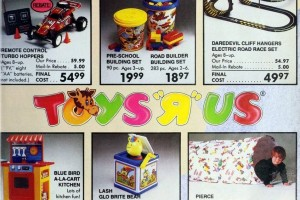 Vintage Toys R Us catalog of Christmas gifts: '80s Out of this World Toy Book (1986)