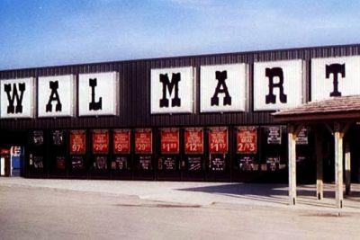 Vintage Wal-Mart stores