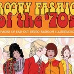 Vintage Women Coloring Book #10: Groovy Fashion of the '70s