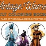 Vintage Women Coloring Book #6: Fashion from 1916