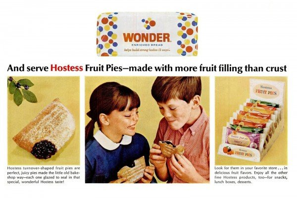 Vintage Hostess snacks: Fruit Pies, Wonder Bread, Twinkies & more retro goodness