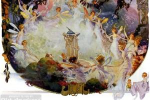 Beautiful vintage fairies: Fantasy & fairy art from the 1920s