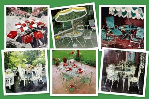 See 60 vintage patio furniture sets that offered outdoor relaxation the old-fashioned way