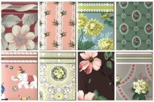 140+ vintage 1950s wallpaper samples for some real retro decor inspiration