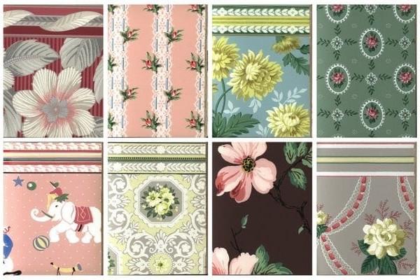 140+ vintage 1950s wallpaper samples for some real retro decor inspiration
